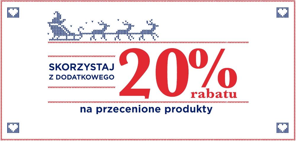 20% rabatu na produkty przecenione @ DeeZee