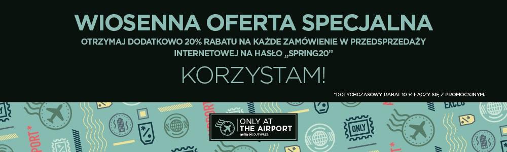 30% rabatu na zakupy w sklepie wolnocłowym na lotnisku Chopina w Warszawie @ Aelia