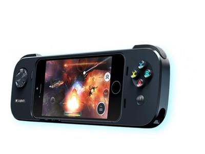Logitech Powershell Kontroler do gier iPhone 5 5S @Karen na Allegro