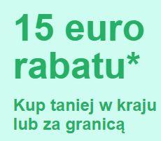 KOD RABATOWY EBAY 15 EUR PRZY MWZ 30 EUR - SPRAWDŹCIE E-MAIL