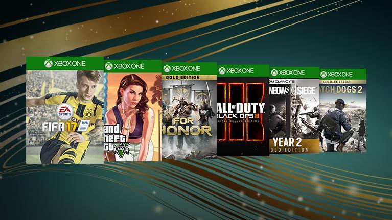 Europejska Wyprzedaż Gier Xbox One, Xbox 360