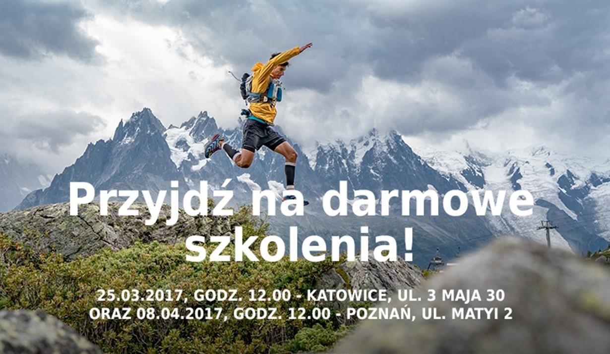 """Darmowe szkolenie """"Przygotowanie motoryczne do biegania"""" oraz możliwość darmowego wypożyczenia butów do testów (Katowice, Poznań) @ 4Faces"""