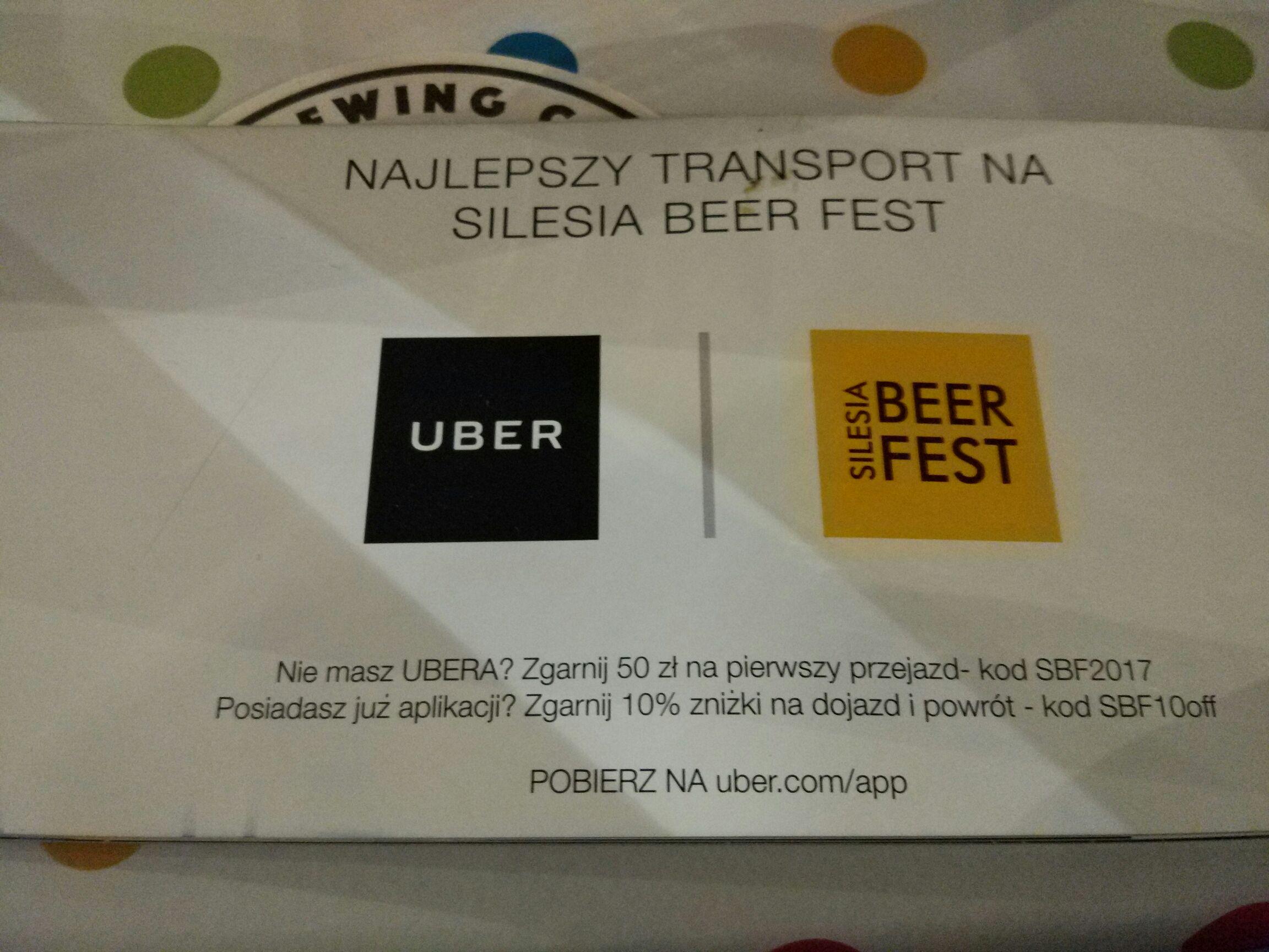 50 złotych na pierwszy przejazd @ UBER