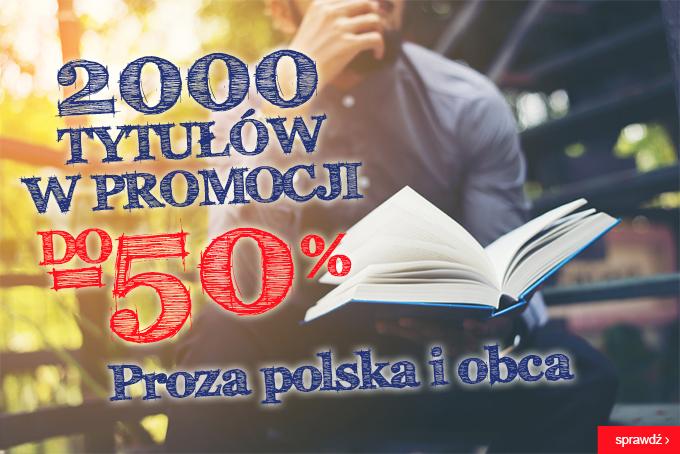 2000 tytułów do 50% taniej @ Świat Książki