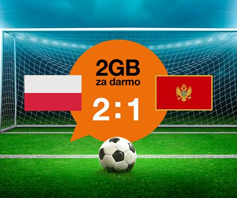 Pakiet internetowy 2GB za darmo @ Orange