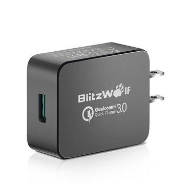 Ładowarka Blitzwolf BW-S5 USB QC3.0 z amerykańską wtyczką + przejściówka