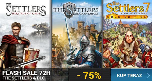 The Settlers i dodatki w promocyjnych cenach @ UPLAY