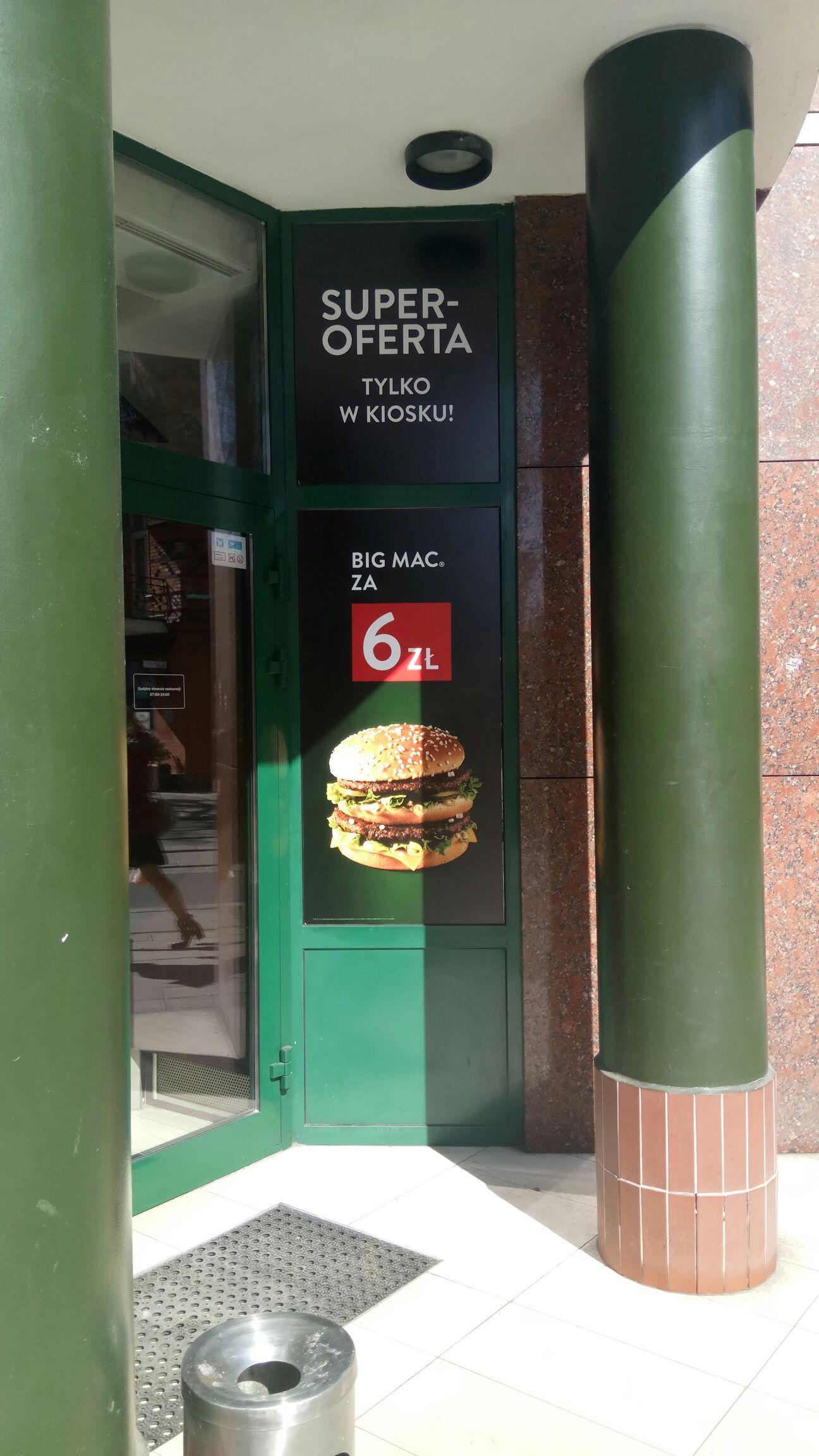 Big Mac za 6 [Gliwice]