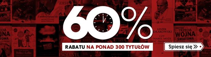 60% rabatu na ponad 300 książek @ Znak.com.pl