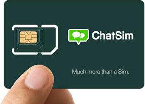 ChatSIM - tani kontakt w roamingu na całym świecie - obniżka o 12€