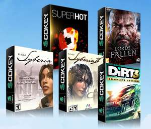 Superhot/Lords Of The Fallen/Syberia/Syberia 2/Dirt 3 - ZA DARMO @scdkey