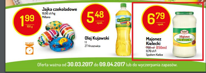 Majonez Kielecki 850ml DELIKATESY CENTRUM