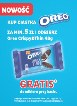 Kup ciastka Oreo za min.5zł i weź nowe gratis @ Stokrotka