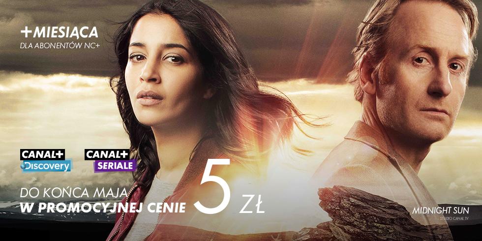Canal+ Discovery oraz Canal+ Seriale w kwietniu za 0zł, w maju za 5zł @nc+