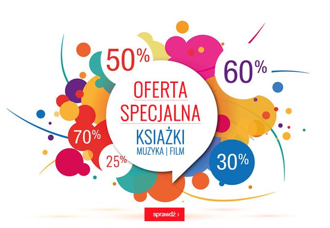 Oferta specjalna z rabatami do -70% | Książki | Muzyka |Film W Świecie Książki.