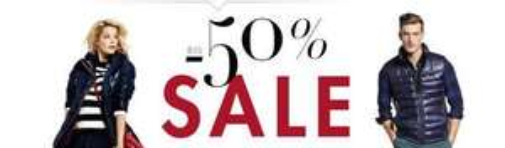 do -50% na ubrania @ Amazon.de