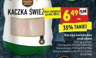 Kaczka świeża @Biedronka