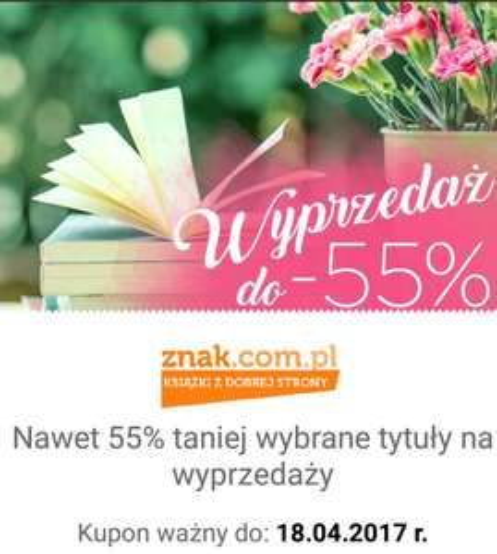 WYPRZEDAŻ DO -55% ZNAK.COM.PL