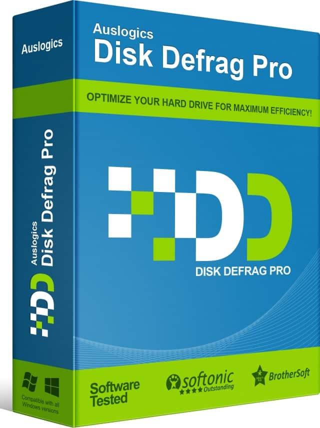 Auslogics Disk Defrag Pro za darmo