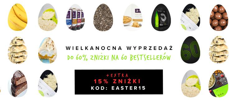 Wielkanocna wyprzedaz - bialko, witaminy, suplementy