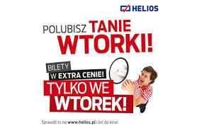 Tanie wtorki i bilety od 14zł @ Helios