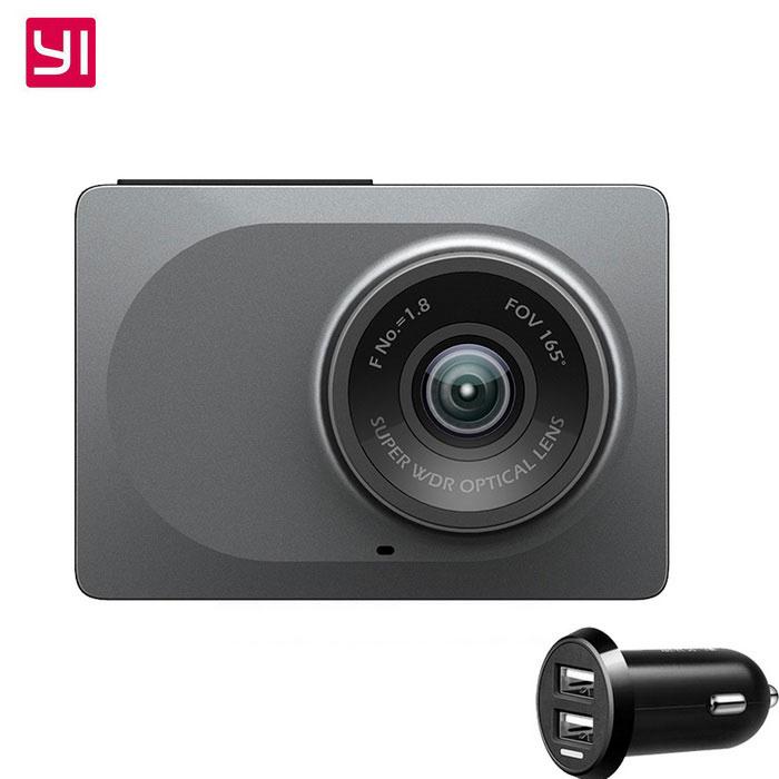 """Kamera Samochodowa Xiaomi Yi 2.7"""" 1080P ADAS Wi-Fi"""