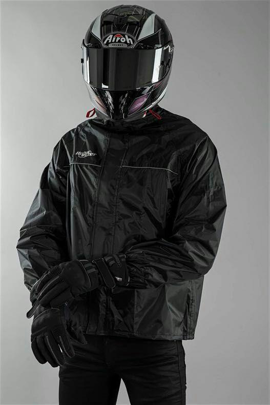"""""""Motocyklowy"""" płaszcz przeciwdeszczowy Roxter Over"""