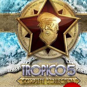 Tropico 5: Complete Collection za ok. 19zł @ Gamersgate