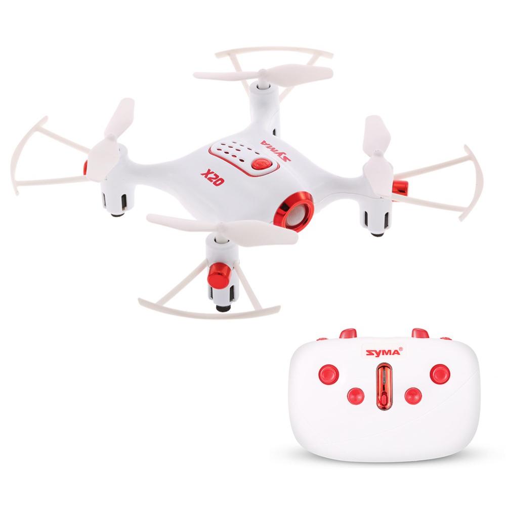 Mini-dron Syma X20 za ~72zł (~60zł dla nowych kont) @ TomTop