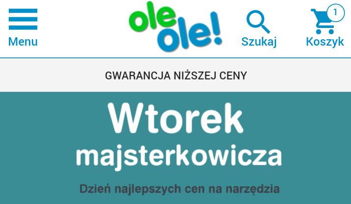 Wtorek majsterkowicza @Oleole.pl