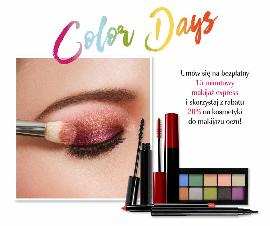 Bezpłatny makijaż oraz 20% zniżki na kosmetyki do makijażu oczu @ Douglas