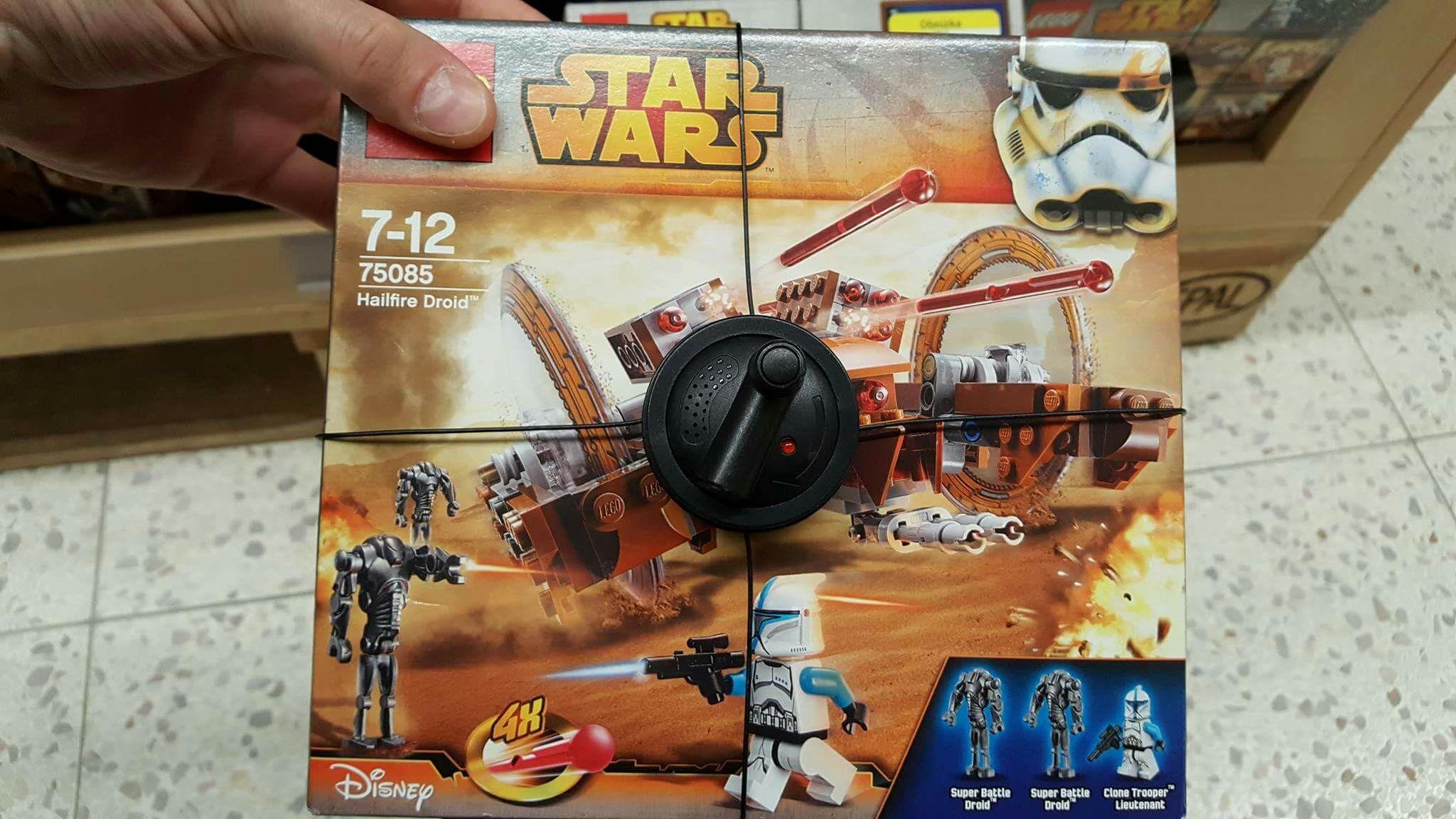 Lego Star Wars Hailfire Droid 75085 @Tesco Galeria Łódzka