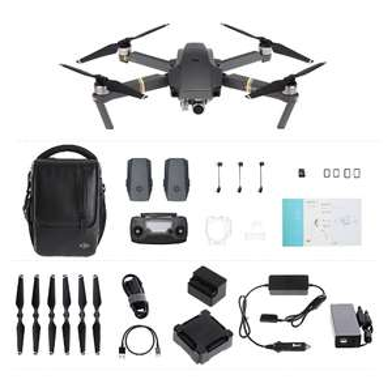 Dron DJI Mavic Pro Combo (Kamera 4K, 27 min lotu, 4km zasięg) @ TopTom