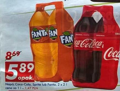 Coca-Cola 2 x 2l