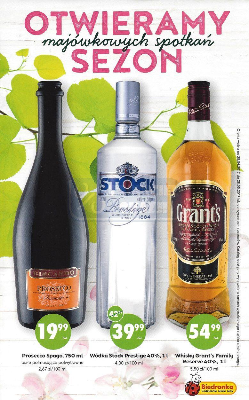 Otwórz sezon w plenerze z Biedronką :) Whisky,Wódka,Cydr i inne.