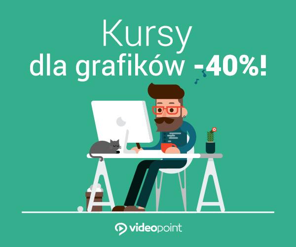 40% taniej kursy dla Grafików z okazji dnia grafika :)