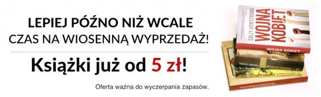 Wyprzedaż - książki w cenie 3,70zł-10zł @ Prószyński