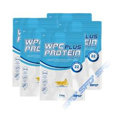 Białko SFD WPC Protein Plus WPC 6x750g + gratis