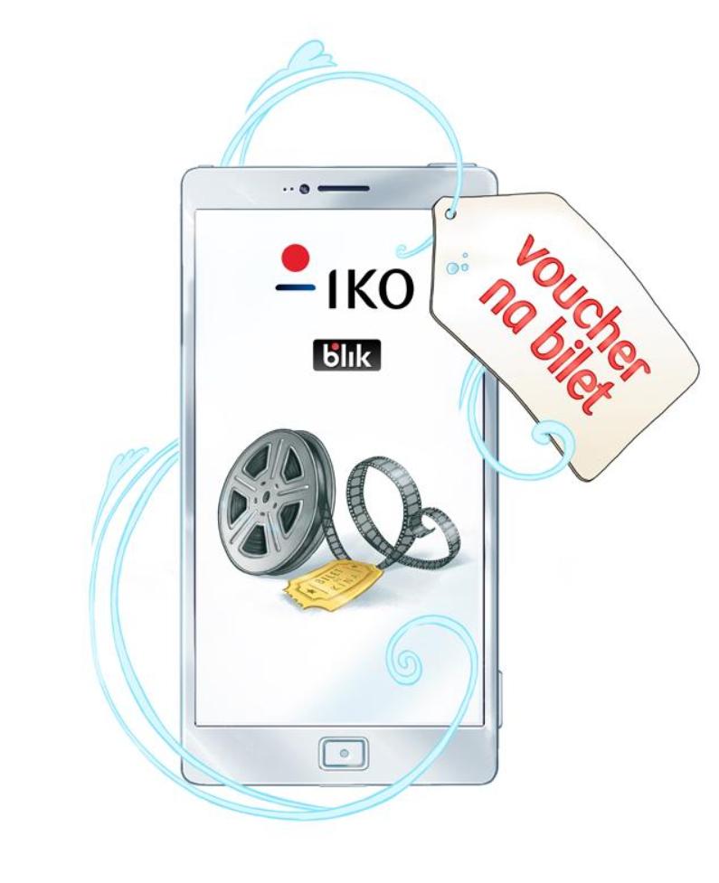 Płać BLIKIEM z aplikacji IKO i odbierz bilet do Multikina @PKO BP