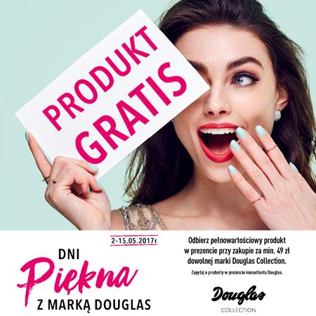 Jeden produkt gratis do zakupów od 49zł (stacjonarnie) @ Douglas