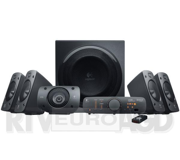Zestaw głośników Logitech Z906 5.1 THX/500W tylko dzisiaj 200zł taniej @ EURO RTV