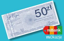 50zł premii za zakup Nju z rachunkiem (na konto w Mbanku) @ Nju