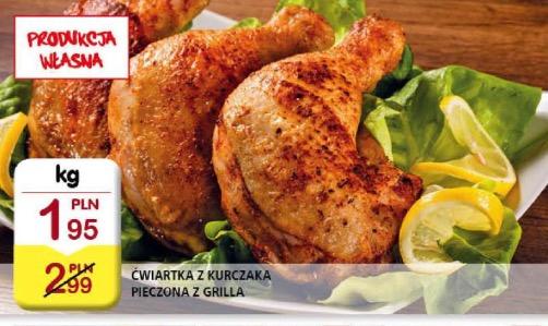 Pieczona ćwiartka z kurczaka TYLKO 1,95/KG @ BI1