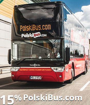 Podróżuj 15% taniej z mOkazjami i PolskiBus.com @ mBank