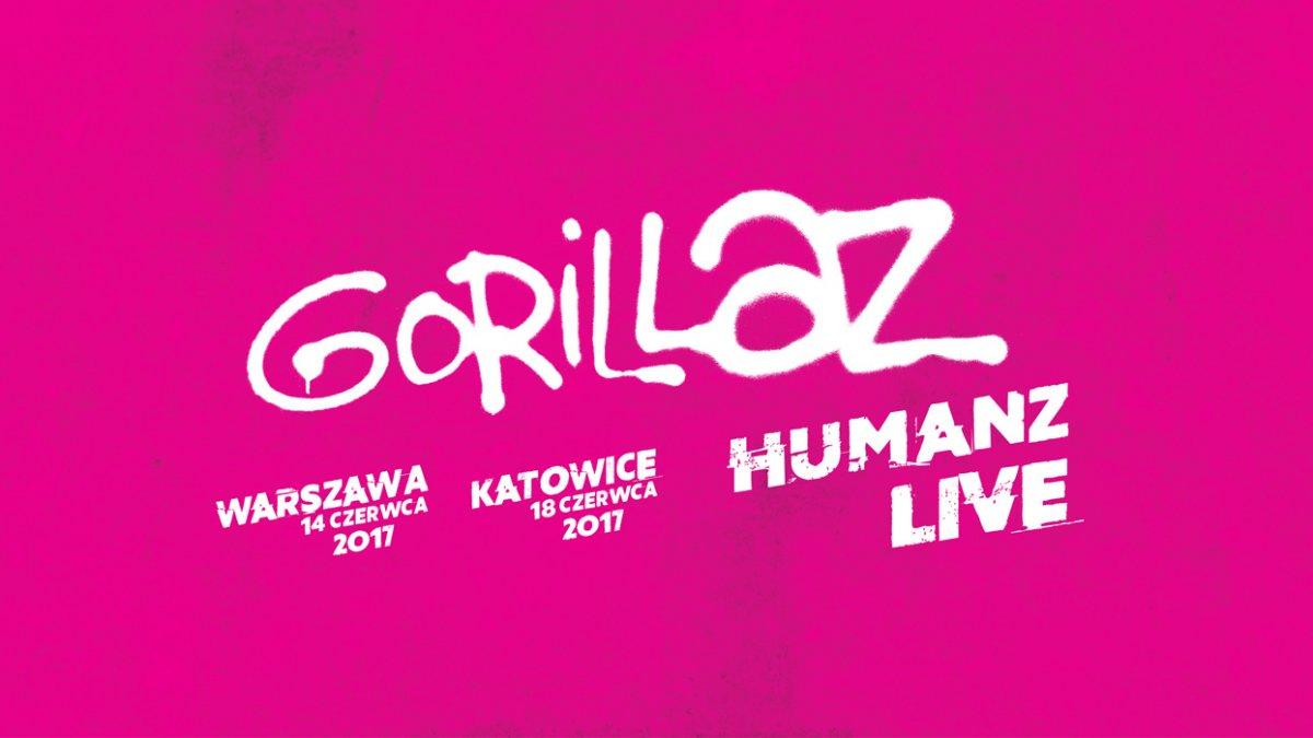 Bilety na koncert Gorillaz za 0zł !