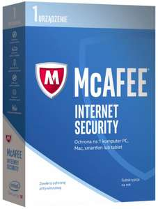 McAfee Internet Security 2017 - ZA DARMO