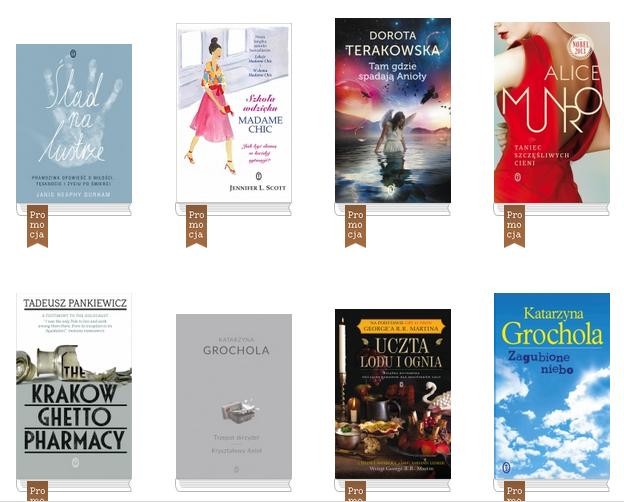 Książki po przejściach do 80% taniej (ceny od 1,20zł) @ Wydawnictwo Literackie