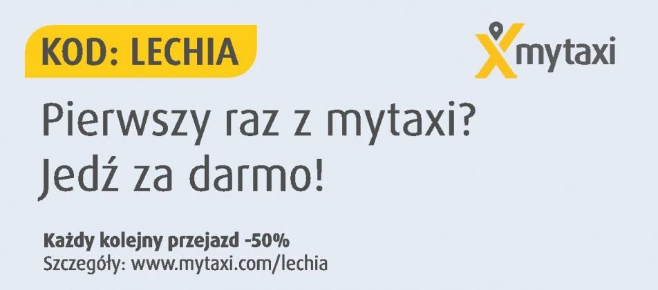 Przyjedź na mecz i wróć ze spotkania Lechii z Koroną z mytaxi!(za free dla nowych użytkowników)