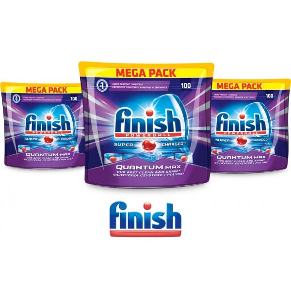 Tabletki FINISH QUANTUM MAX 300szt (ok 50 gr za tabletkę)