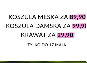 Happy Hours ponownie w Wólczanka.pl ,np koszula męska 89.90 zł